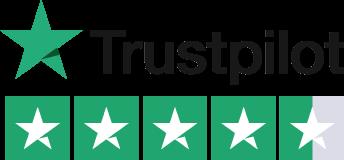 Enthuse Trustpilot rating